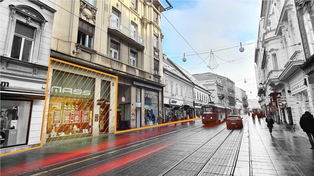 Peris Ilica 26 retail lease